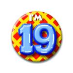 Button I'm 19