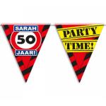 Partyvlaggen 50 jaar sarah