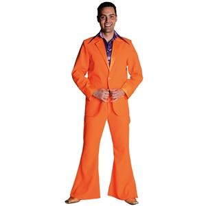 70s kostuum oranje
