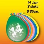 ballonnen 30 cm assorti 14