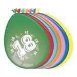 ballonnen 30 cm 18 jaar