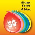 Bedrukte ballonnen 50