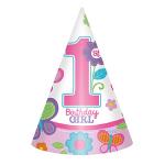 Hoedjes meisje 1e verjaardag