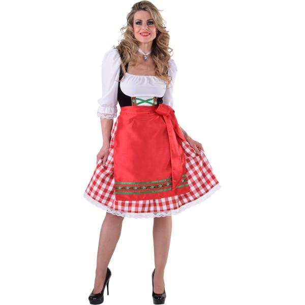 1c82ea651fc983 Tiroler jurk knielang mt L - feestartikelen bestellen ...