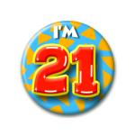 Button I'm 21
