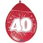 Ballonnen 40 Robijn