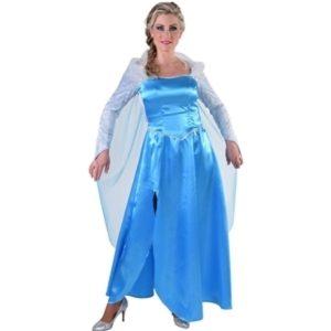 Blauwe ijsprinses Frozen