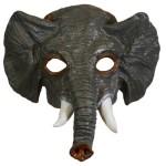 Half masker olifant
