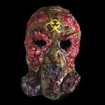 Gasmasker bloody deluxe latex