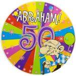 Button Abraham