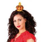 Luxe kroon op een gouden diadeem