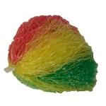 Pompon rood-geel-groen
