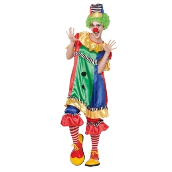 Carnavalskleding Dames Clown.Dames Clown Online Feestartikelen Bestellen Carnavalskleding