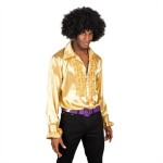 Party shirt goud