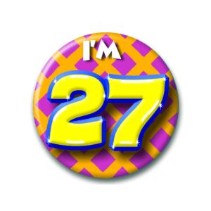 Button I'm 27