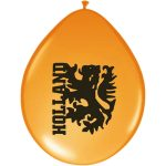 Ballonnen oranje Holland leeuw