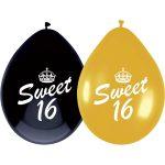 Ballonnen sweet 16