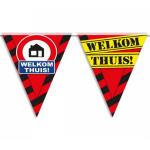 Partyvlaggen Welkom thuis