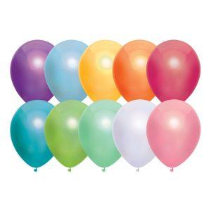 Ballonnen metallic assorti