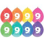 Latex ballonnen 9