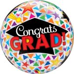 Bubble congrats grad