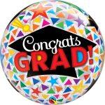 Bubble congrats grad