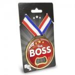 Medaille opener The Boss