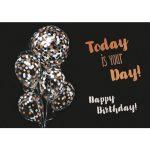 Wenskaart Artwork Happy birthday