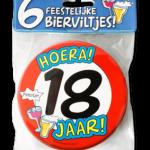 Biervilt 18 jaar