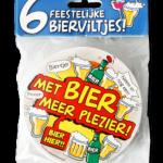 Biervilt Met bier meer plezier