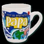 Cartoon mok Voor de allerliefste Papa
