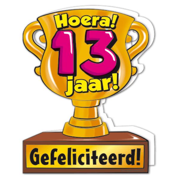 hoera 13 jaar Gefeliciteerd hoera 13 jaar   feestartikelen bestellen 13 jaar  hoera 13 jaar