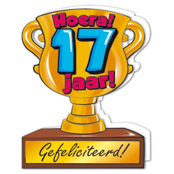 hoera 17 jaar Gefeliciteerd hoera 17 jaar   feestartikelen bestellen 17 jaar  hoera 17 jaar