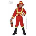 Brandweerman fiberoptisch
