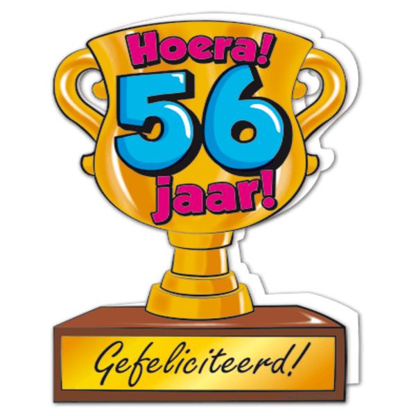 56 jaar Gefeliciteerd hoera 56 jaar   feestartikelen bestellen 56 jaar  56 jaar