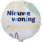 Folieballon Nieuwe woning