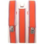 Bretels oranje met rood-wit-blauw randje