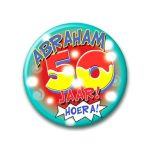 Button hoera Abraham