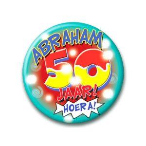 Button hoera Abraham