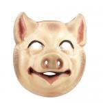 Masker boerderij dieren 6 assorti