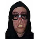 Half masker met bril