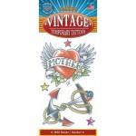 Vintage Tattoo Heart-Anchor 1950