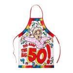 Keukenschort Sarah the big 50