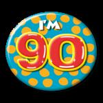 Button I'm 90
