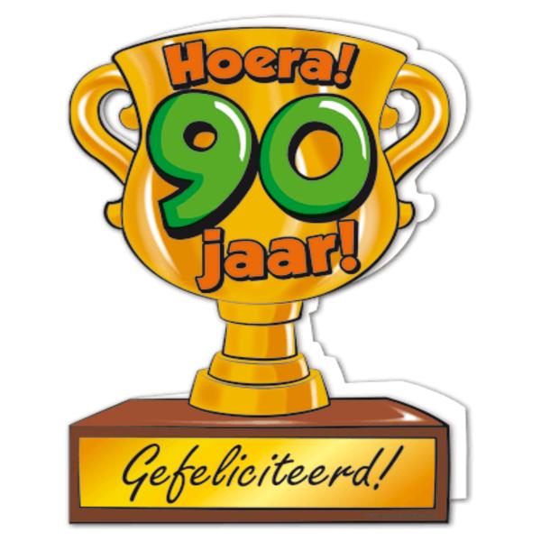 90 jaar verjaardag Gefeliciteerd hoera 90 jaar   feestartikelen bestellen 90 jaar  90 jaar verjaardag