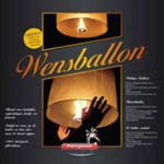 Wensballon wit