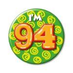 Button I'm 94