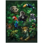 3D lifeline platen Jungle Pals