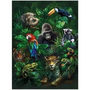 3D lifeline platen Jungle Pals