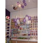 Helium ballon combinatie los en tros